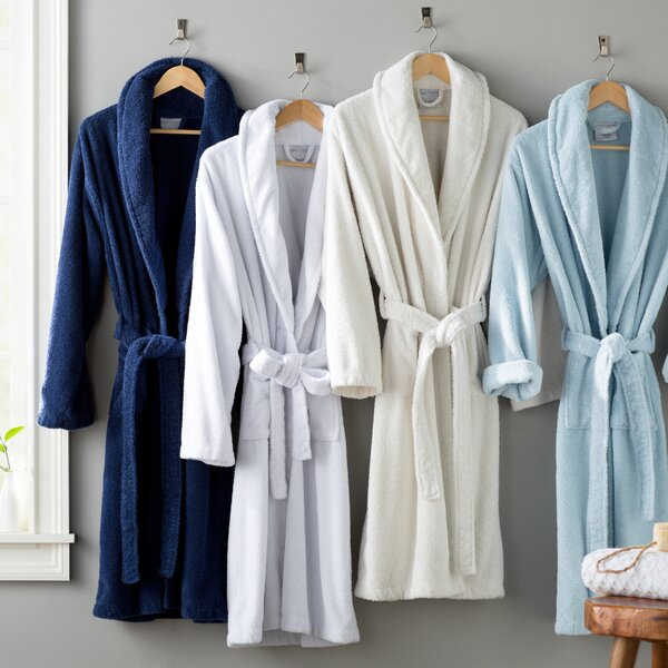 Burroughs Kimono 100% Turkish Cotton Bathrobe by T